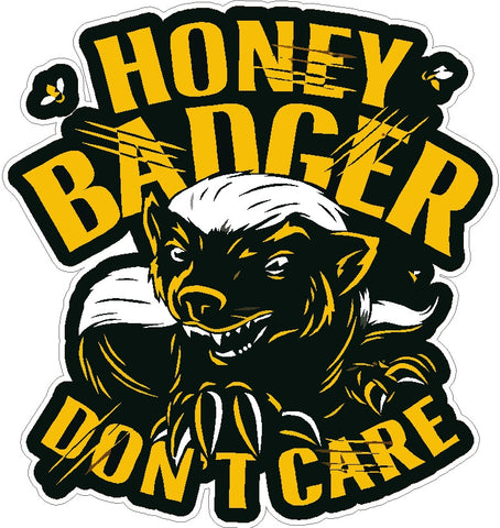 Honey Badger Decal