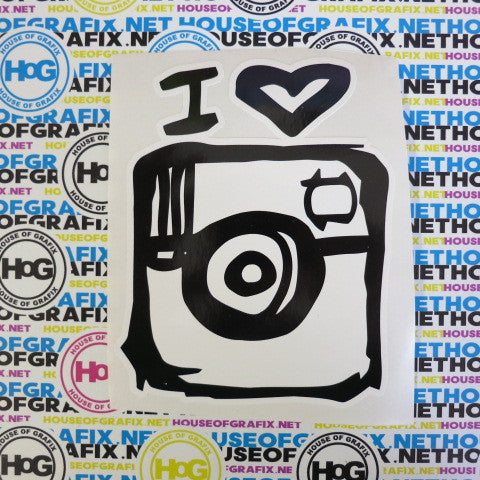 I love Instagram Decal