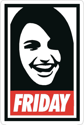 It's Friday Rebecca Black decal