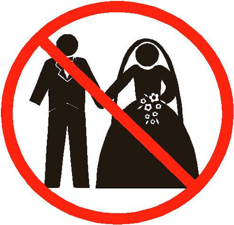 Just Say No to weddings