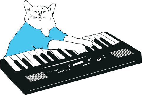Keyboard Cat Decal