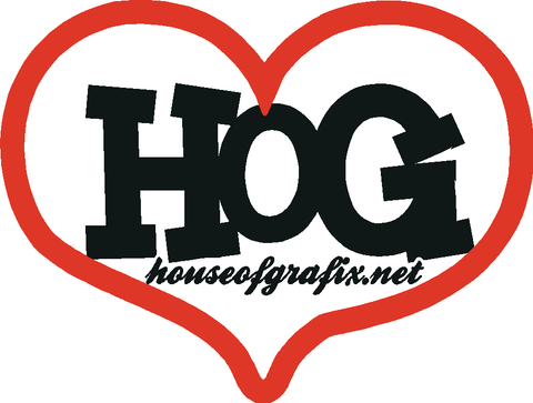 Love Houseofgrafix.net Decal