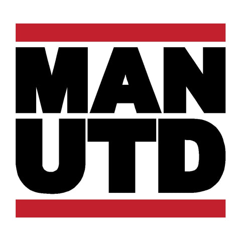 MAN UTD Decal