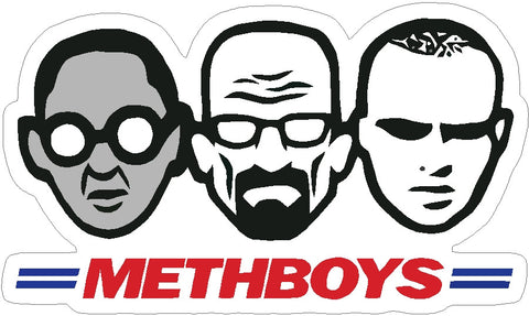 Meth Boys Breaking Bad Decal