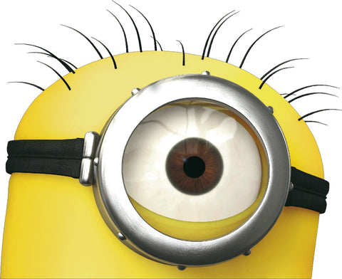 Minions 1 Eye Decal Real Looking
