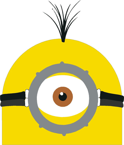Minions 1 eye Decal Cartoon