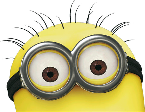 Minions 2 eye Decal Real Look