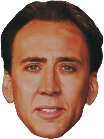 Nicolas Cage Face Decal
