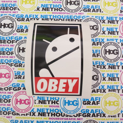 Obey Android Decal