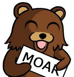 Pedobear Ask for MOREEEE!