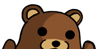 Pedobear Watching with hands
