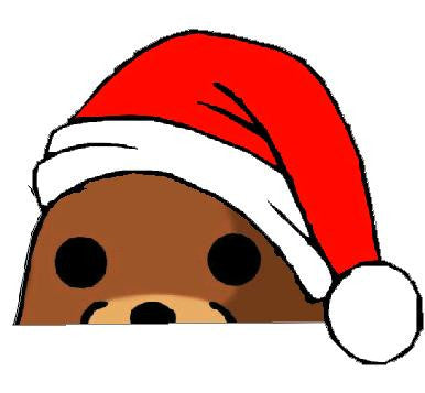 Pedobear Christmas Watching