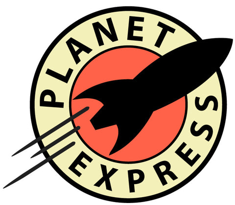 Planet Express Printed Logo Decal