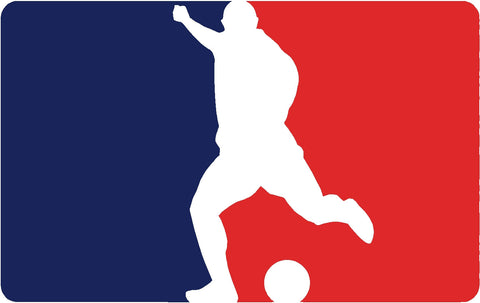 Play Soccer Logo Decal