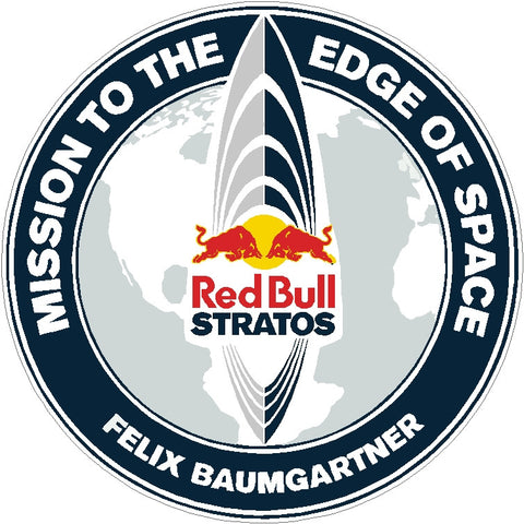 Red Bull Stratos Decals