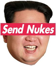 Send Nukes Decal