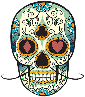 Sugar Skull Full Color