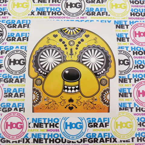 Sugra Skull Jake Decal