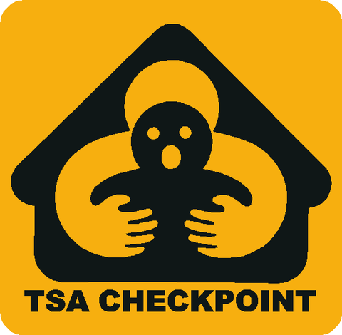TSA Checkpoint Decals