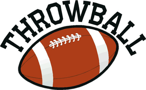 Throw Ball Decal