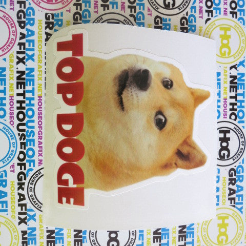 Top Doge Decal