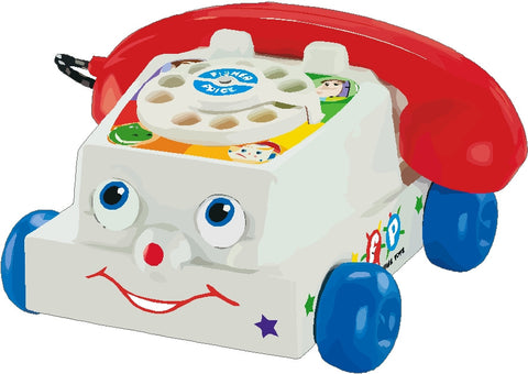 Toy Phone Decal