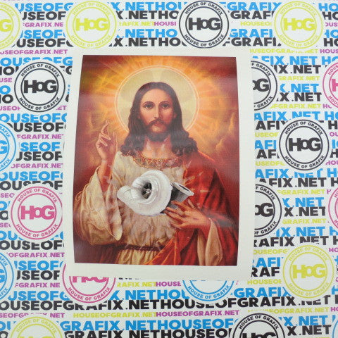 Turbo Jesus Decal
