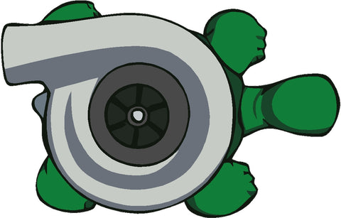 Turbo Turtle Decal