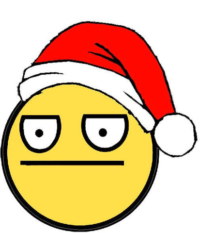 Unamused at Christmas