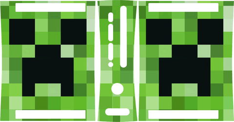 Xbox 360 Minecraft Creepers Skin Wrap