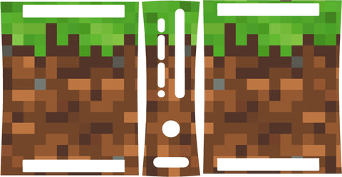 Xbox 360 Minecraft Block Skin Wrap