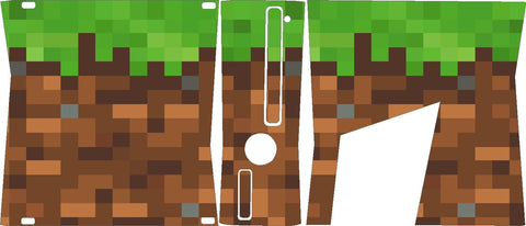 Xbox 360 Slim Minecraft Skin Wrap