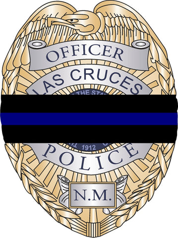 Las Cruces Police Fundraiser Badge