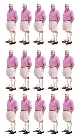 Pink Shirt Guy 15set