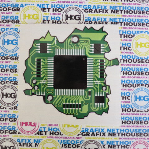 circuit board Decal