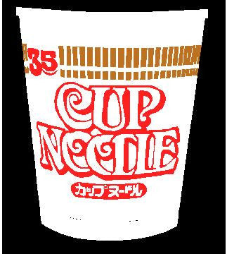 cup of noodles decal