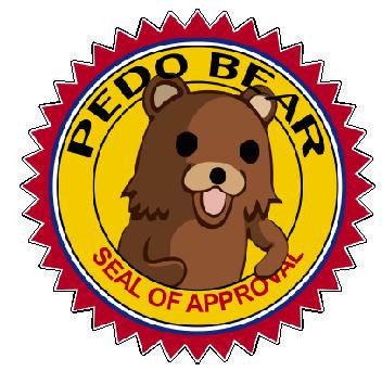 Pedobear Seal Decal