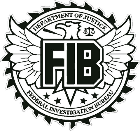 grand theft auto 5 GTA FIB logo Decal