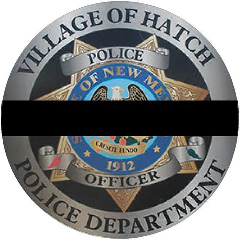 Fallen Hatch Police Officer Jose Chavez Decals to help raise money for family