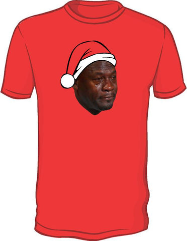 Crying Jordan Chirstmas Shirt