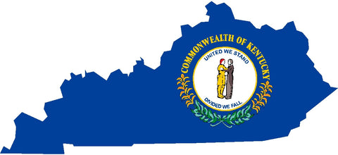 kentucky state flag decals