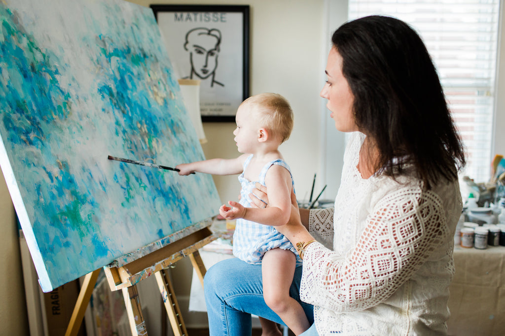 Thoughts on Motherhood and Art