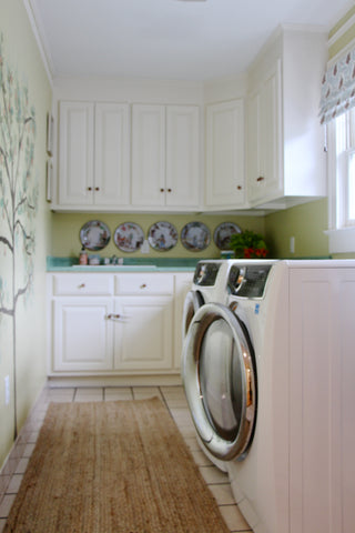 Laundry Room Re-do: Fresh Paint makes all the difference!