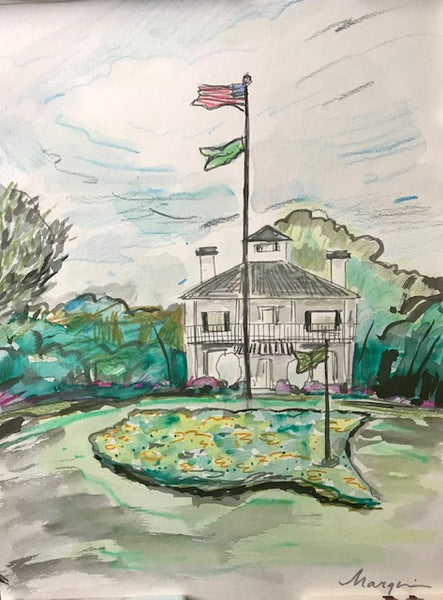 'Ode to Augusta' Augusta National Paintings inspired by the Masters Golf Tournament!