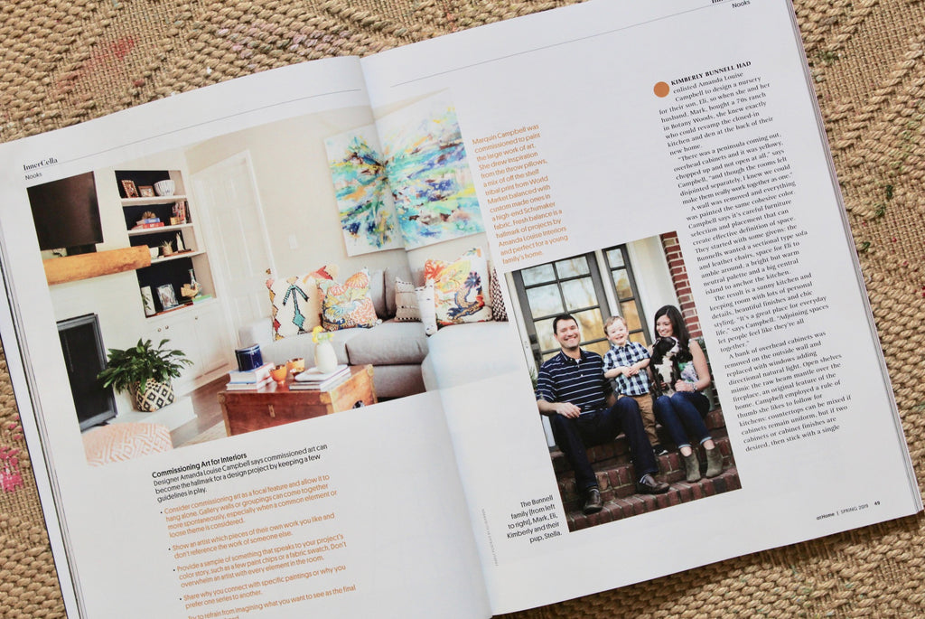 Feature in At Home Magazine