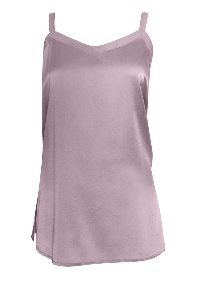 AMALIE Silk V-Neck Camisole for Tall Women