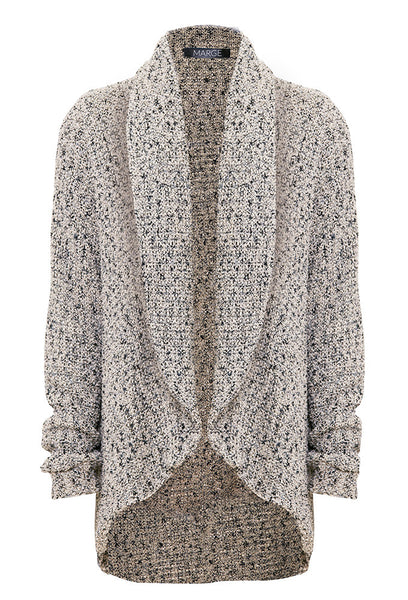 Luxury knit cardigan for tall women by Marge Clothing