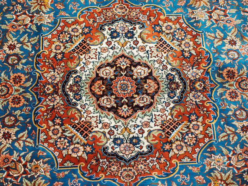 Beautifully hand-crafted Qum Rugs (History & Examples)