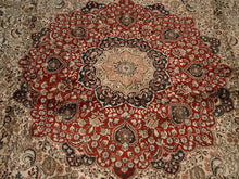 "Load image into Gallery viewer, Pure Silk Isfahan Rug (12'x17'9"") - Direct Rug Import 