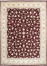 "Load image into Gallery viewer, 8'11""X12'6"" Persian Tabriz Floral Wool & Silk Rug - Direct Rug Import 